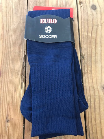 Metropolis Game Socks - Navy (MRFC STOCK)