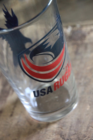 *USA Rugby Pint Glasses (RA)