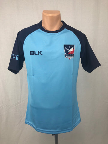 Texas Rugby Referee BLK LIGHT BLUE Jersey