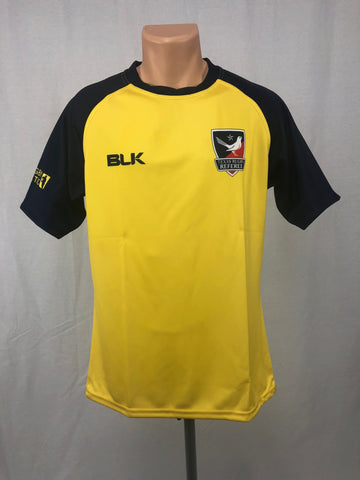 Texas Rugby Referee BLK YELLOW Jersey