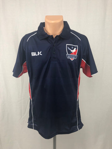 Texas Rugby Referee BLK Men's Polo