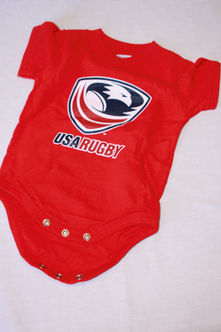 *USA Rugby Onesie - Red (RA)