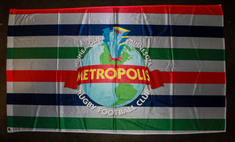 *Metropolis Team Flag (RA STOCK)