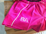 *RA PINK - Rugby Shorts