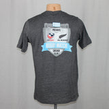 USA Rugby vs NZ All Blacks Event S/S Tee - Grey