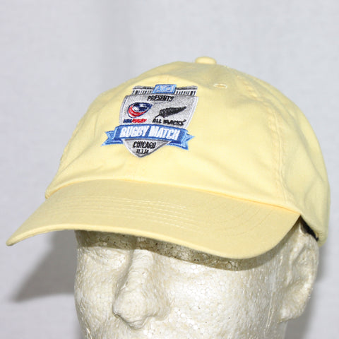 USA Rugby vs NZ All Blacks Event Hat - Yellow