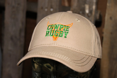 *Cowpie Rugby Tan Hat (RA)
