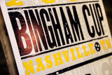 *Bingham Cup Hatch Show Print Poster (Limited Edition)
