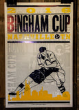 *Bingham Cup Hatch Show Print Poster (Limited Edition) (STOCK)