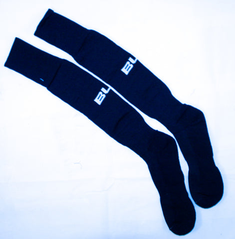 Mid South Ref BLK Navy Socks
