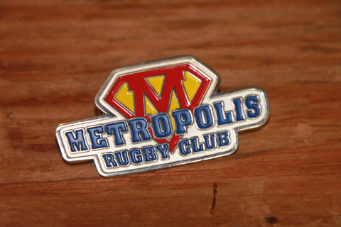 Metropolis Club Pin (CLOSEOUT)