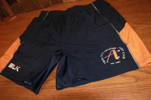 *Amazons Gym Short - Navy (RA)