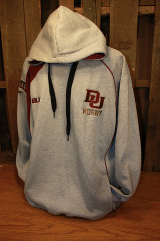 *DU Rugby BLK Hooded Sweatshirt (RA)