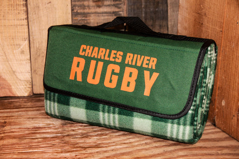 Charles River Rugby Picnic Blanket (STOCK)