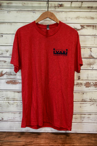 Ivari Fit // #rugbyxv T-Shirt - Red