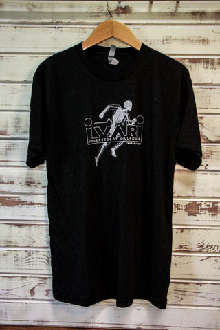 Ivari Fit // #runningman T-Shirt - Black