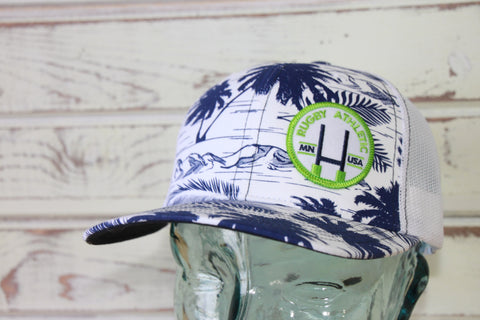 *Rugby Athletic Tropical / Patch Hat