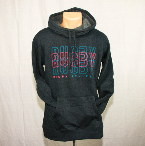 *Rugby Repeat Ladies Cowl Neck Hoodie
