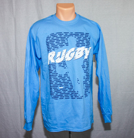 *Icon Logo Rugby Athletic Long Sleeve Shirt