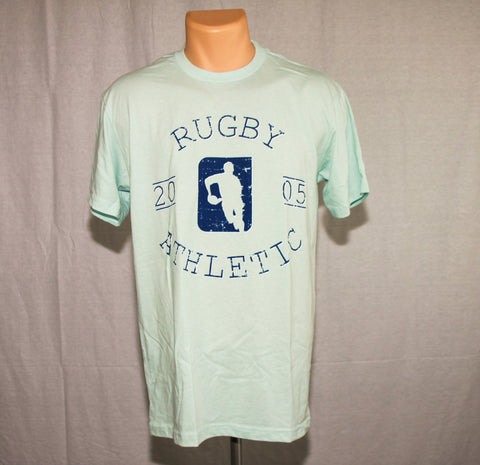 *Rugby Athletic Gym Tee - Ice Blue