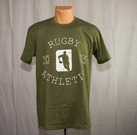 *Rugby Athletic Gym Tee - Light Olive