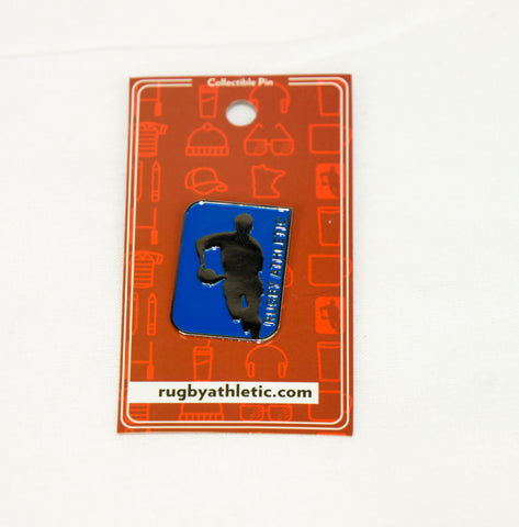 *Rugby Athletic Icon Lapel Pin