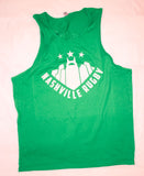 Nashville Rugby Green Tank Top