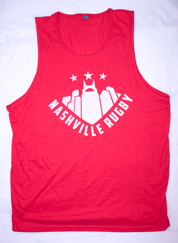 Nashville Rugby Red Tank Top