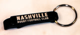 Nashville Rugby Bottle Opener Key Chain
