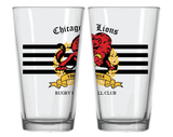 Chicago Lions 50th - Pint Glass