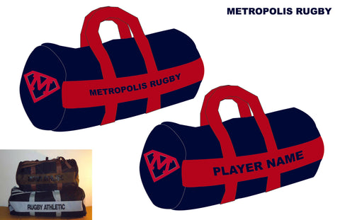 *Metropolis Rugby Kit Bag (RA Stock)
