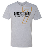 Mizzou Rugby Heather Grey Tee (Pre-Order)