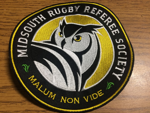 *Mid South Rugby Referee Society Patch (RA)