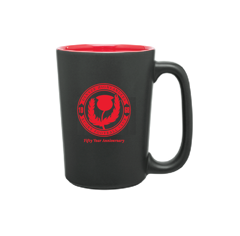 Denver Highlanders 50th Anniversary Coffee Mug (Pre-Order)