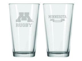 *University of Minnesota Pint Glass (RA)