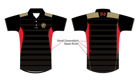 Denver Highlanders 50th Anniversary BLK Polo (Pre-Order)