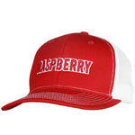 Raspberry Festival Red/White Mesh Back Cap