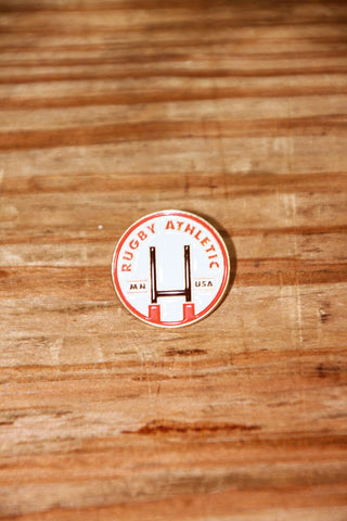 *Rugby Athletic // Pitch Lapel Pin