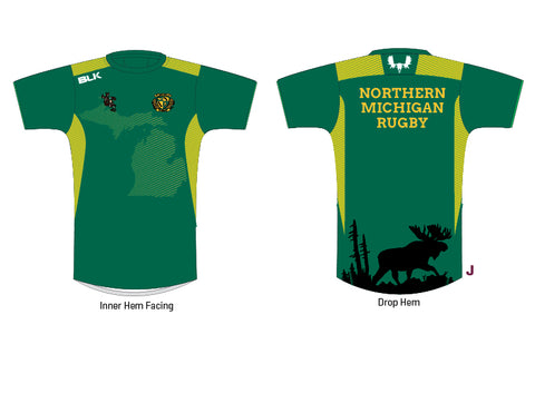 Northern Michigan Rugby BLK Tee (Pre-Order)