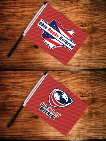 Ohio Rugby Ref Touch Flags (Pre-Order)