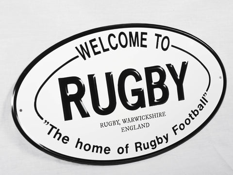 *Rugby Sign
