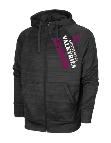 Minnesota Valkyries Performance Full Zip Hoodie (Stock)