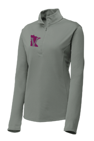 Minnesota Valkyries Grey 1/4 Zip (Stock)