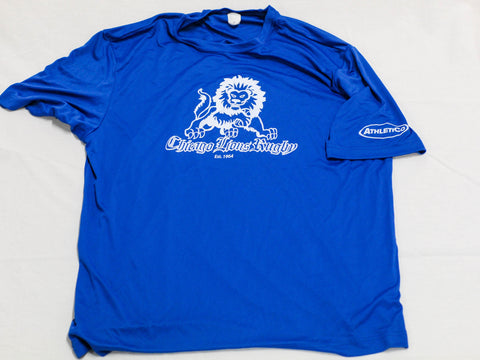 Chicago Lions Performance Tee - Royal