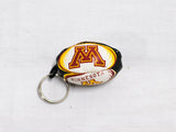 *University of Minnesota - Key Chain Rugby Ball (RA)