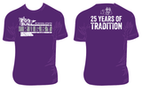 Winona State Rugby 25th Tee - Purple