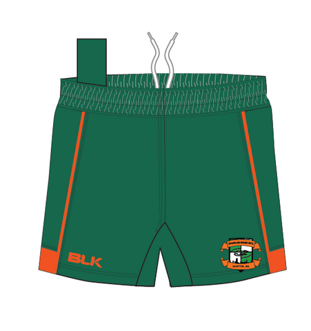 Charles River BLK PRO Rugby Shorts (Stock)
