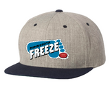 Minnesota Freeze Flat Bill Snap Back Cap (STOCK, IN PRODUCTION)