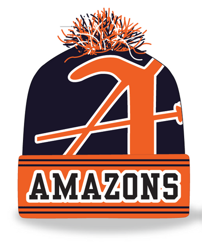 Amazons Custom Knit Pom Beanie (STOCK)