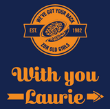 Amazons, With You Laurie, T-Shirt (Pre-Order)